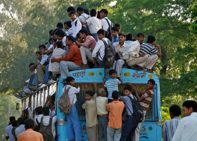 Located-in-the-northern-Indian-state-of-Uttar-Pradesh-the-village-of-Khurja-frequently-sees-commuters-and-students-alike-piling-onto-passenger-buses-